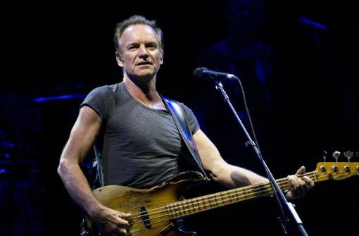 Sting sagt Konzert in München ab - Schlaglichter
