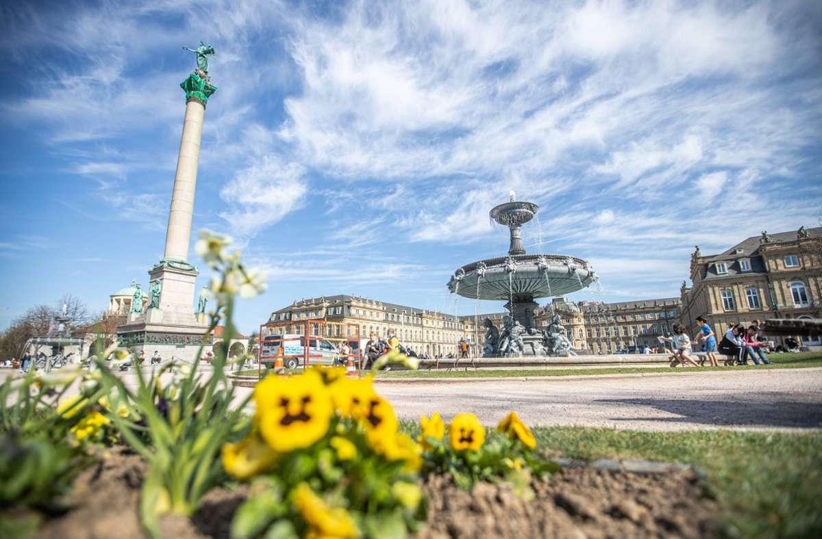 Wetter in Stuttgart Am Wochenende wird es sommerlich – aber nur ...