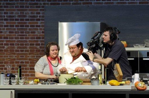 2011 kocht de Santis hier im Kochtheater auf der Eat&Style Messe in Stuttgart. Foto: Archiv