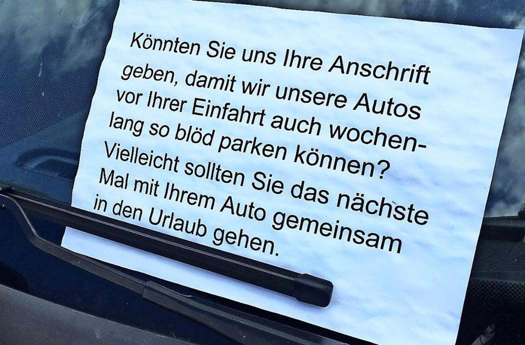 Flughafen Stuttgart Urlauber Schnappen Anwohnern Die Parkplatze Weg