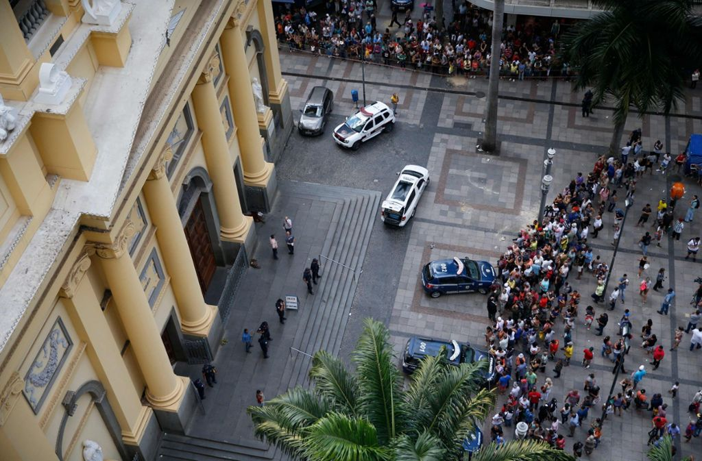 Brasilien Fünf Tote Bei Amoklauf In Kathedrale Politik