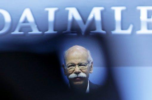 Daimler ruft 840.000 Fahrzeuge zurück