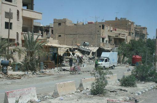 IS kontrolliert wichtige Gasfelder in Syrien