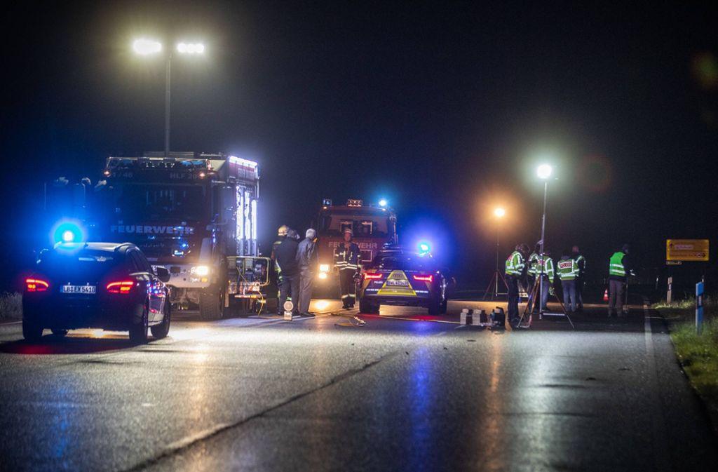 Todlicher Unfall In Sachsenheim Polizei Gibt Details Zum Fluchtauto Bekannt Ludwigsburg Stuttgarter Nachrichten