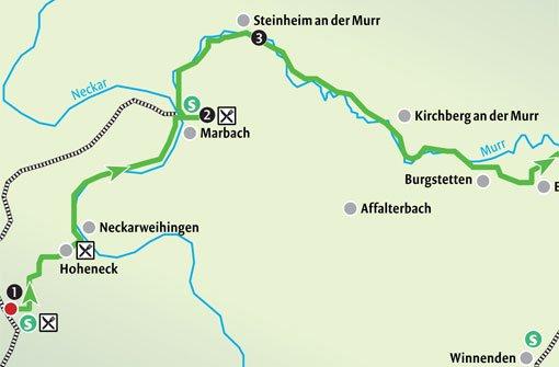 Spätsommer an Neckar und Murr