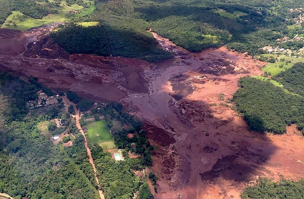 Brasilien Damm An Erzmine Bricht Hunderte Vermisste Panorama
