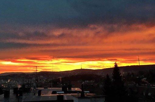 Sonnenaufgang Im Westen