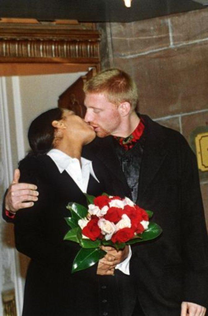Tennis As Boris Becker Und Barbara Babs Feltus Heiraten 1993 Was So Schon Beginnt Stuttgarter Nachrichten