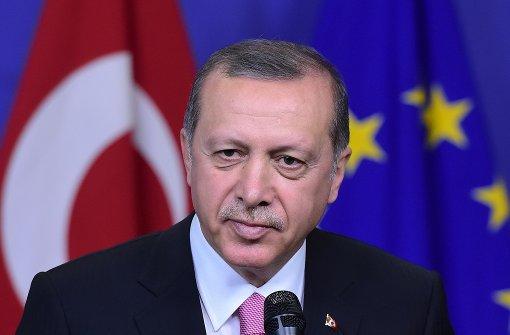 Türkischer Präsident Erdogan kritisiert die EU