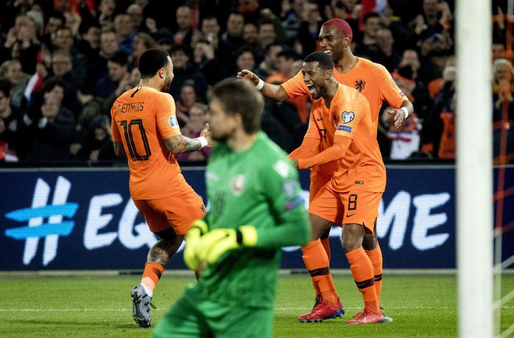Em Qualifikation Niederlande Fur Fussball Klassiker Gegen