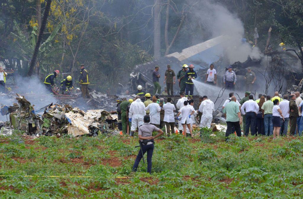 Flugzeugabsturz Auf Kuba Mehr Als 100 Tote Befürchtet Panorama