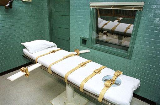Verurteilter kämpft 13 Minuten lang mit dem Tod