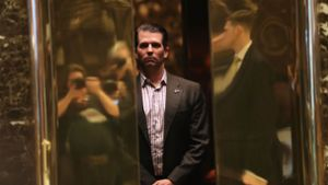 Donald Trump Junior unter Druck
