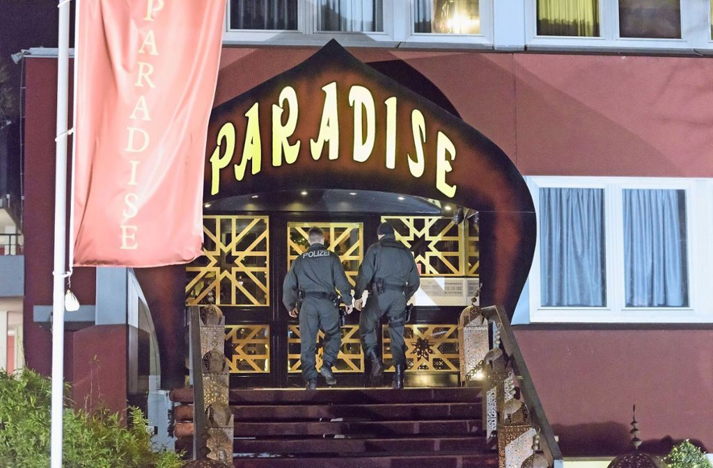 Bordell in Stuttgart: Paradise-Gründer Jürgen Rudloff vor