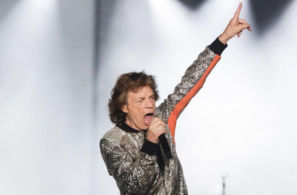 Rolling Stones In Hamburg Rockrentner In Bestform Kultur