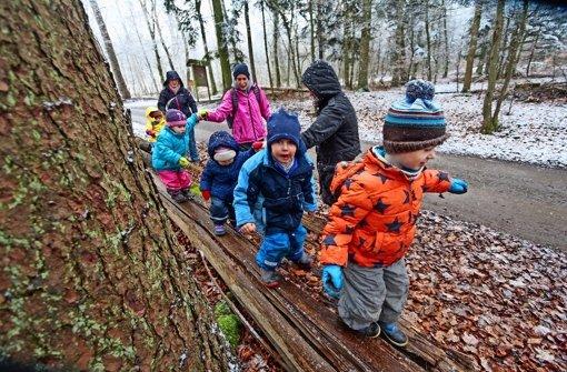 Diese Kinder würden gerne in einen Flachter Waldkindergarten gehen – den Verein dazu gibt es schon. Foto: factum/Granville
