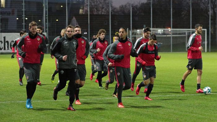 Live-Blog vom VfB-Training