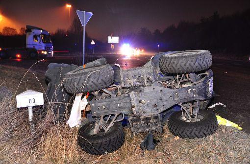 Quad-Fahrer bei Frontal-Crash verletzt