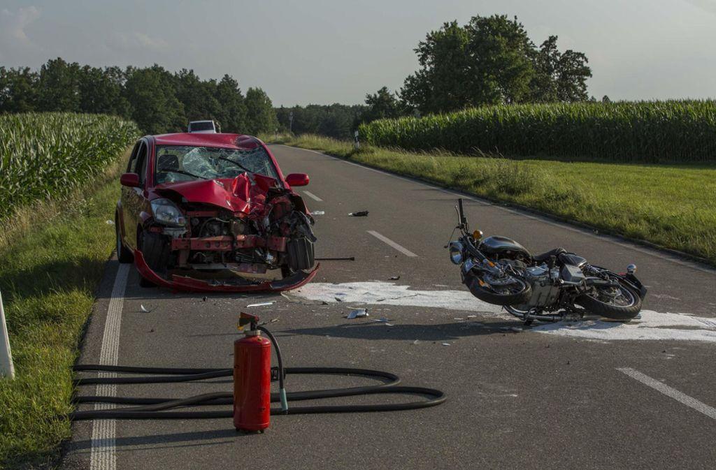 Unfall Im Rems Murr Kreis 62 Jähriger Biker Lebensgefährlich