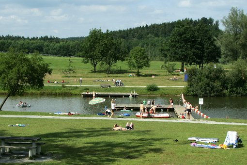 Openair-Badespaß rund um Stuttgart