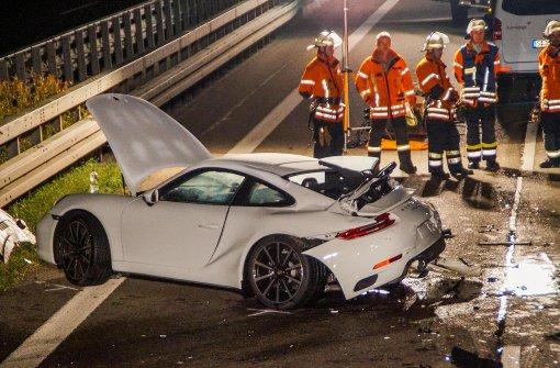 Verunglückte Porsche-Beifahrerin in Klinik gestorben