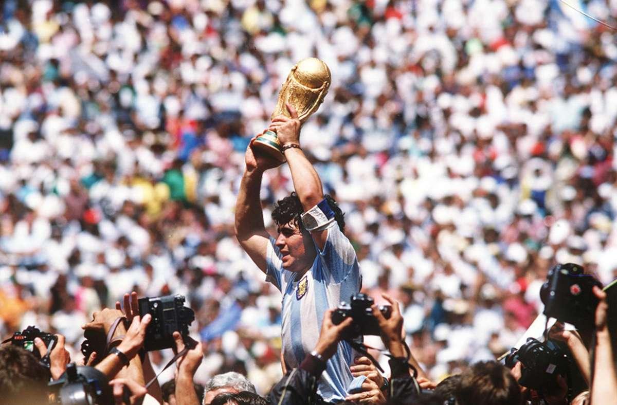 Diego Maradona - Argentinische Fußball-Legende gestorben