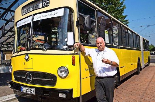 Mit dem Nostalgiebus in Richtung Rente