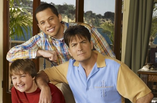 "Charlie Sheen in ""Two and a half Man"" Foto: kabel eins/Warner Brothers Telev"