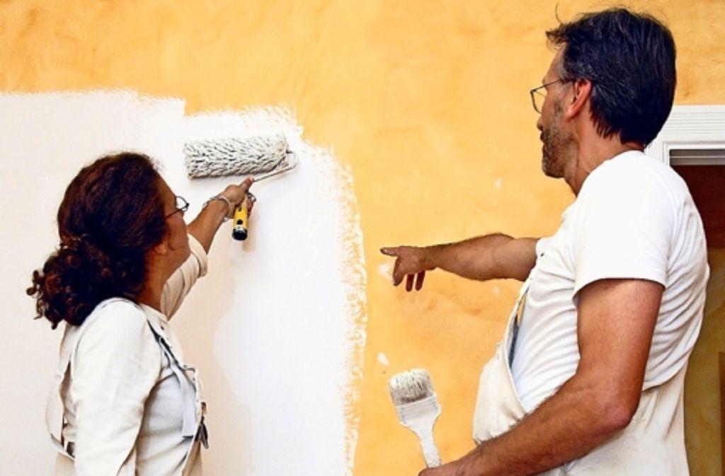 schule f r farbe und gestaltung die maler k mpfen um ein besseres image feuerbach. Black Bedroom Furniture Sets. Home Design Ideas