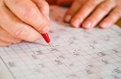 Kreuzworträtsel Rätsel Lösen