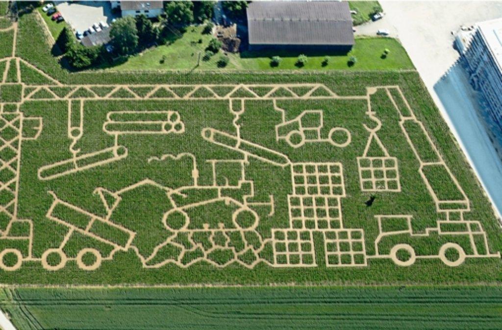 Gruseliges Labyrinth
