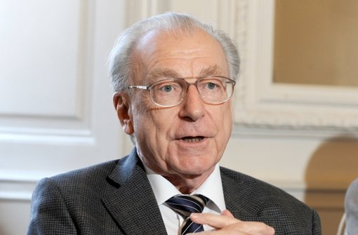 Lothar Späth ist am 18. März im Alter von 78 Jahren verstorben. Foto: dpa