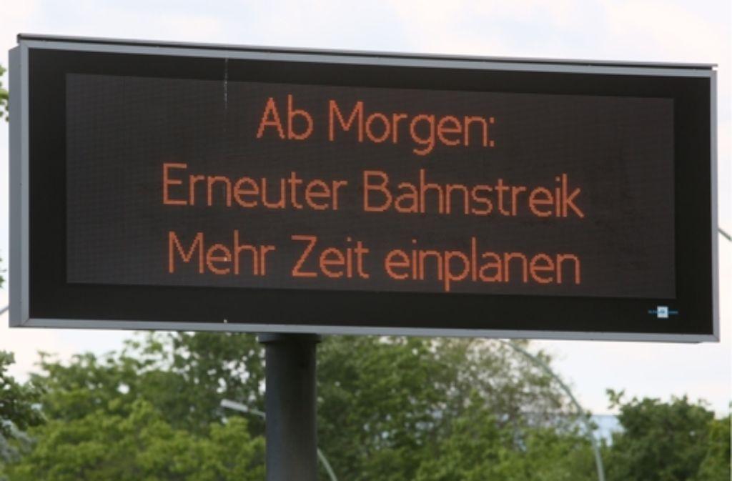 Gdl Streik Mittwoch