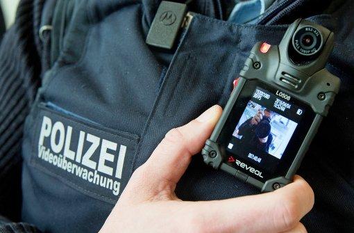 Bei Krawall wird mit Bodycams gefilmt