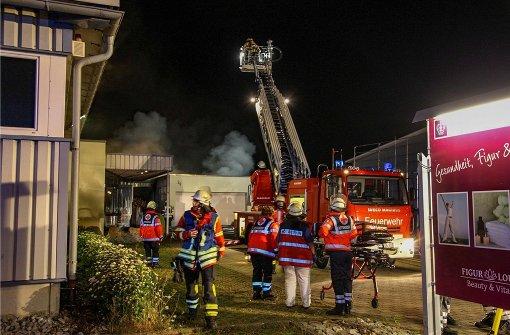 Wohngebäude ausgebrannt