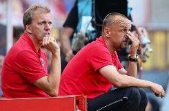 ... André Trulsen (links), der zuletzt als Co-Trainer beim 1. FC Köln arbeitete.  Foto: Bongarts