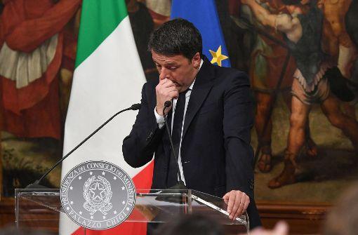 Renzi bleibt noch ein Weilchen im Amt