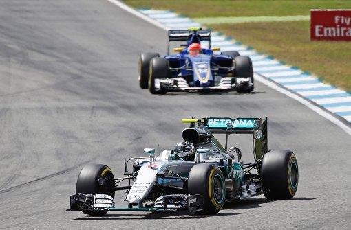 Rosberg der Schnellste zur Einstimmung