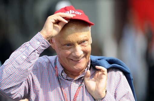 Am Pulsschlag der Formel 1: Der dreimalige Weltmeister Niki Lauda Foto: dpa