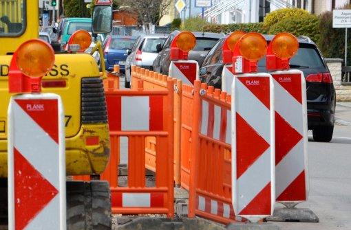 Hechinger Straße gesperrt