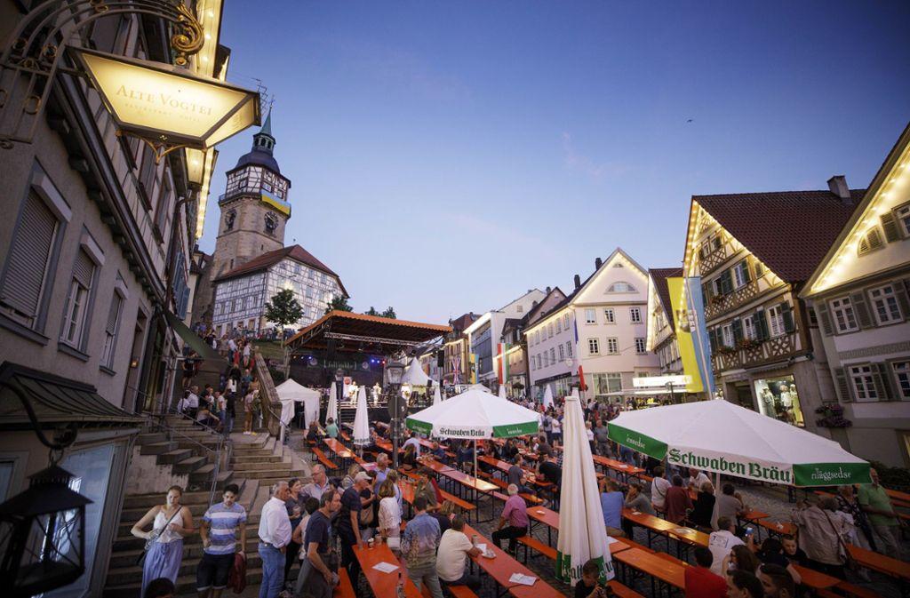 backnanger straßenfest 2020