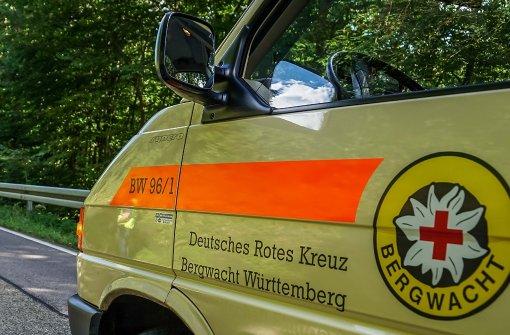 Bergwacht muss Kinder aus steilem Gelände retten