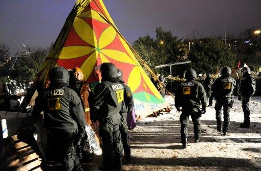 S21-Protestcamper scheitern vor Gericht