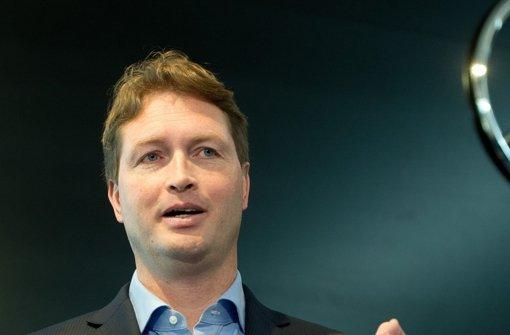 Mercedes-Vertriebsvorstand Ola Källenius will E-Mobilität zur Chefsache machen Foto: dpa