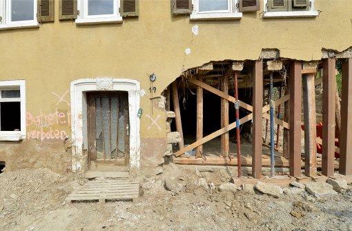 In Braunsbach wächst die Ungeduld