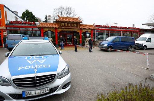 Im Asia-Restaurant Asien Perle in Backnang ist am Freitag eine Tote gefunden worden.  Foto: Oskar Eyb / 7aktuell