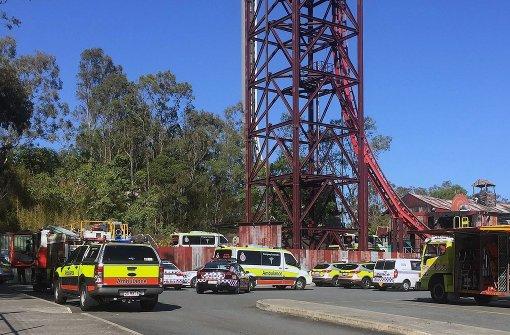 Unfall im Freizeitpark Dreamworld fordert vier Tote