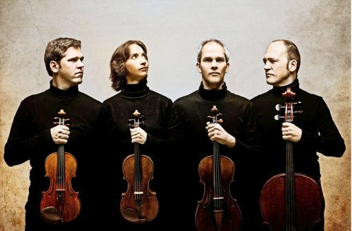 Das spanische Cuarteto Casals Foto: Molina