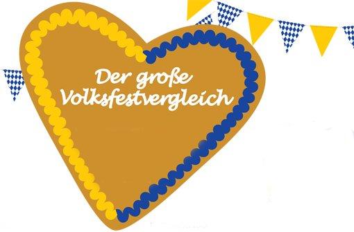 ... Wasen mit den Münchner Wiesn - Volksfest gegen Oktoberfest Foto: StN