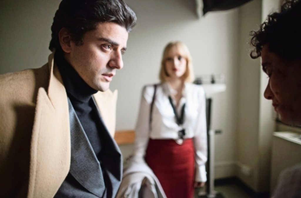 "Oscar Isaac, Jessica Chastain und Elyes Gabel (v. li.) in ""A Most Violent Year"". Foto: Verleih"